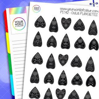 Ouija Planchettes Planner Stickers