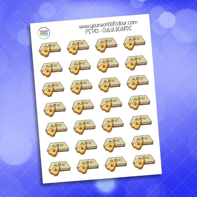 Ouija Boards Planner Sticker