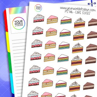 Cake Slices Planner Stickers