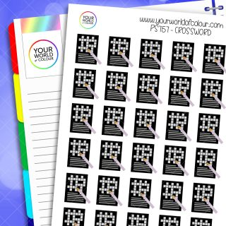 Crossword Planner Stickers