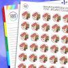 Breakfast Flatlay Planner Stickers