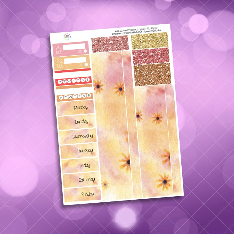 Ballet Washi and Date Cover Stickers