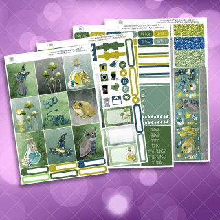 Magic This Way Full Four Sheet Weekly Planner Sticker Kit