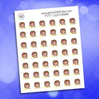 Lilly Planning Planner Sticker
