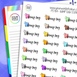 Hump Day Script Planner Stickers
