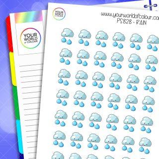 Rain Planner Stickers