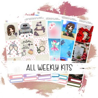 All Weekly Kits
