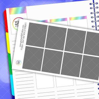 Half Box Extender Planner Sticker