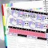 Ghoulish Treats Erin Condren Monthly Planner Sticker Kit