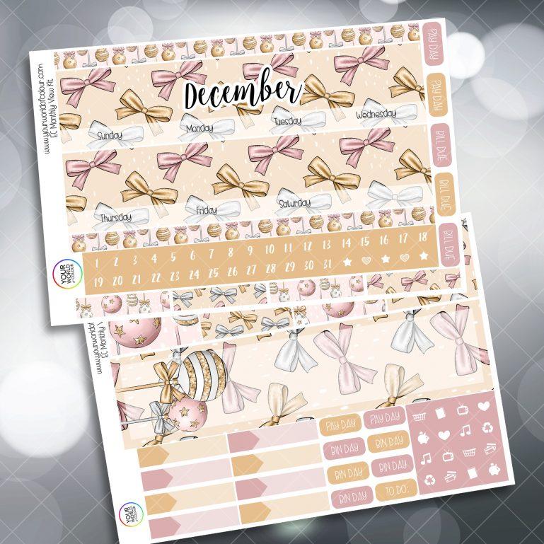 Wrapped Up Baulballs Erin Condren Planner Sticker Kit
