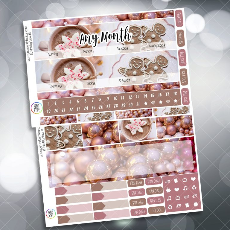 Gingerbread Monthly Kit