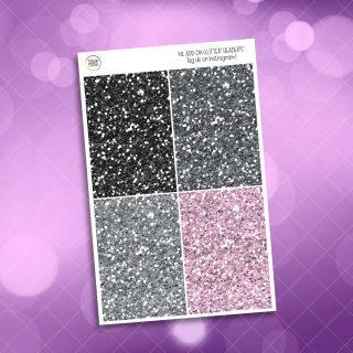 Black Friday Glitter Headers Add On