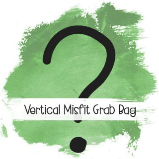 Vertical grab bag
