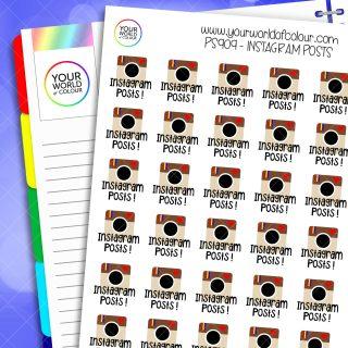 Instagram Post Planner Stickers
