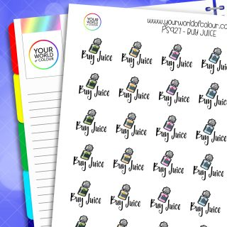 Buy Juice Planner Stickers