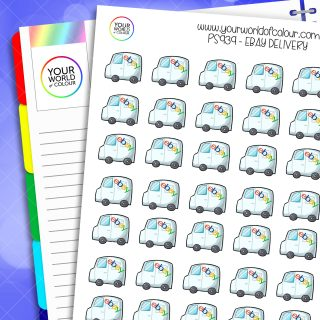 Ebay Delivery Planner Stickers