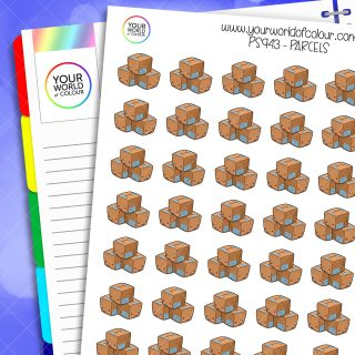 Parcel Planner Stickers