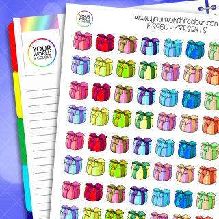 Present Planner Stickers