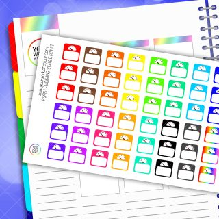 Weighing Scales Planner Stickers