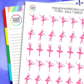 Ballet Dancer Planner Stickers