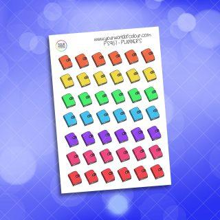 Rainbow Planners Planner Sticker