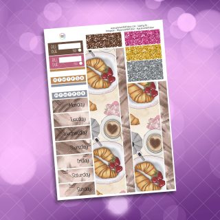 Good Morning Washi and Date Cover Stickers