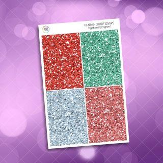 Peppermint Latte Glitter Headers Add On