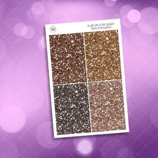 Autumn Picnic Glitter Headers Add On