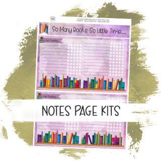 Notes Page Kits
