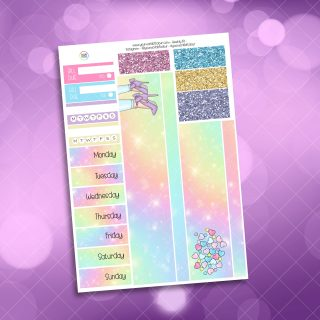 Candy Girl Washi and Date Cover Stickers