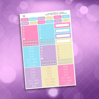 Candy Girl Header Stickers
