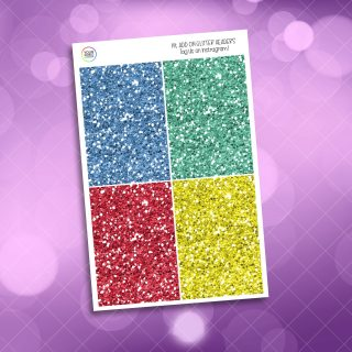 Choose You Glitter Headers Add On