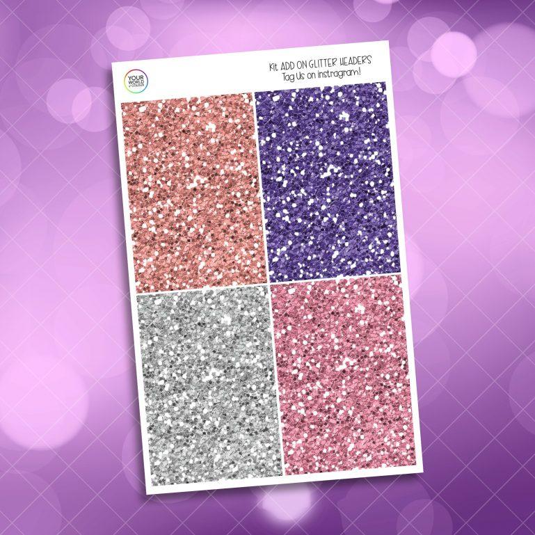 Be Classy Glitter Headers Add On