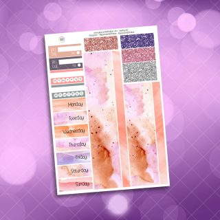 Be Classy Washi and Date Cover Stickers