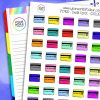 Credit Card Planner Stickers