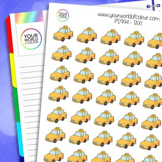 Taxi Planner Stickers