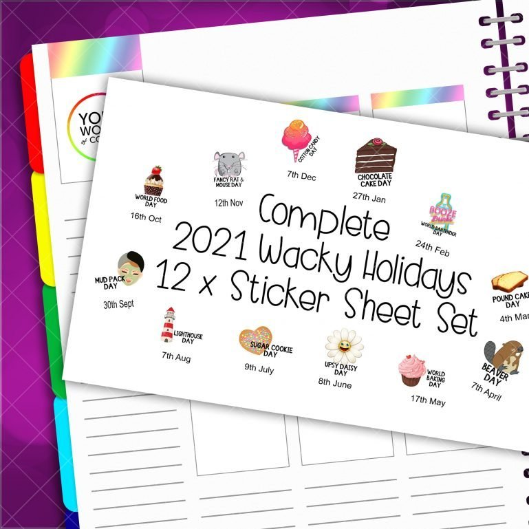 2021 Compleate Wacky Holidays Set