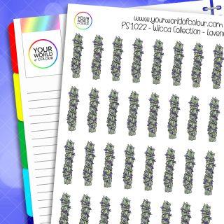 Lavender Planner Stickers