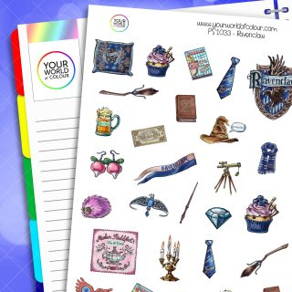 Ravenclaw Planner Stickers
