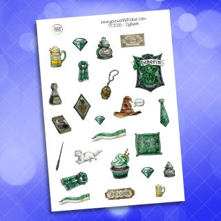 Slytherin Planner Sticker