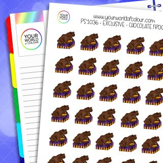 Chocolate Frogs Planner Stickers