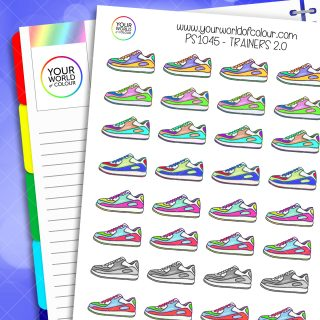 Trainers 2.0 Planner Stickers