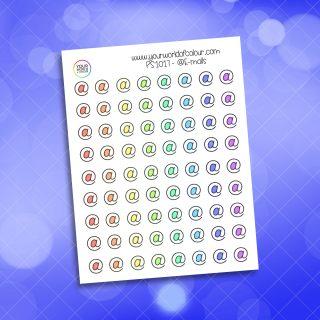 Email Planner Sticker