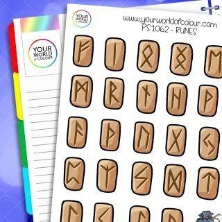 Rune Planner Stickers