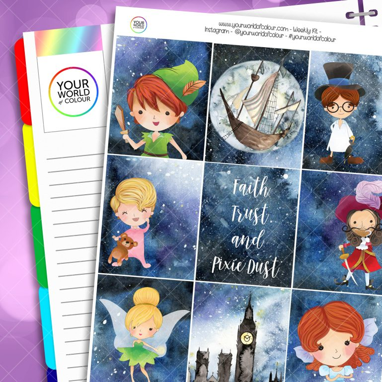Fairy Tale Weekly Planner Sticker Kit
