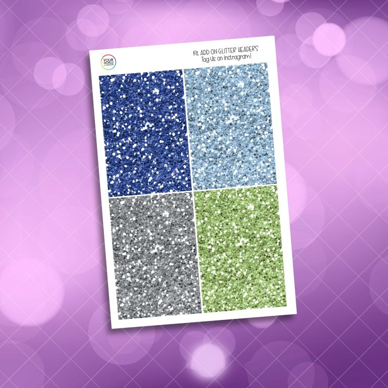 Fairy Tale Glitter Headers Add On