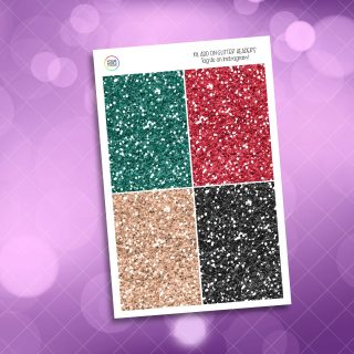 Christmas Comforts Glitter Headers Add On