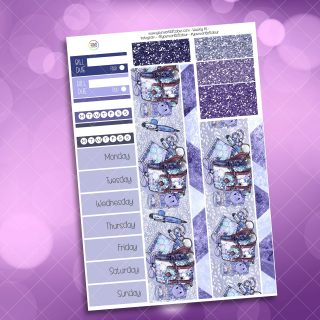 Cool For School Washi and Date Cover Stickers