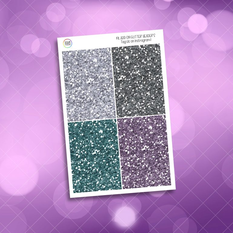 Witchy Vibes Glitter Headers Add On