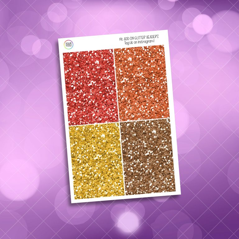Brave Wizard Glitter Headers Add On